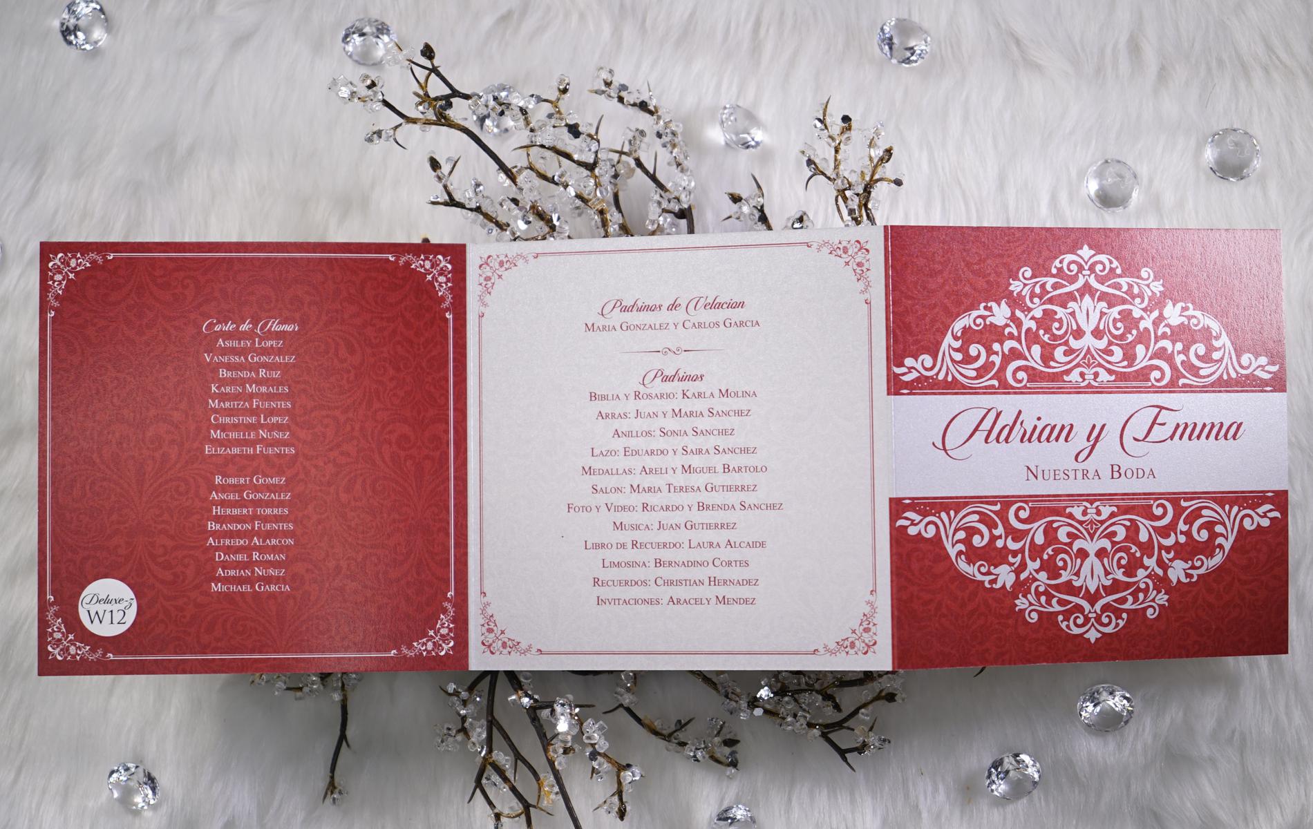 Deluxe Zinvite Wedding Special – SoloInvitaciones